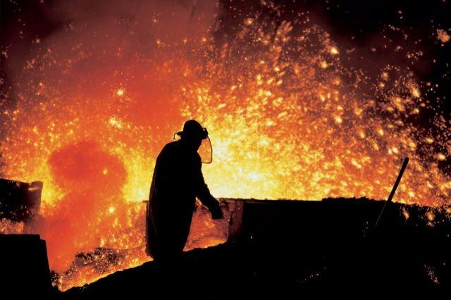 В Украине в январе выросло производство металла
