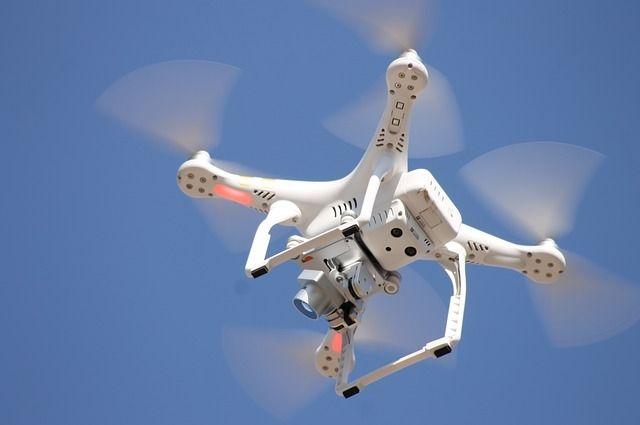 Разрешение на полет дрона мужчина не получил.