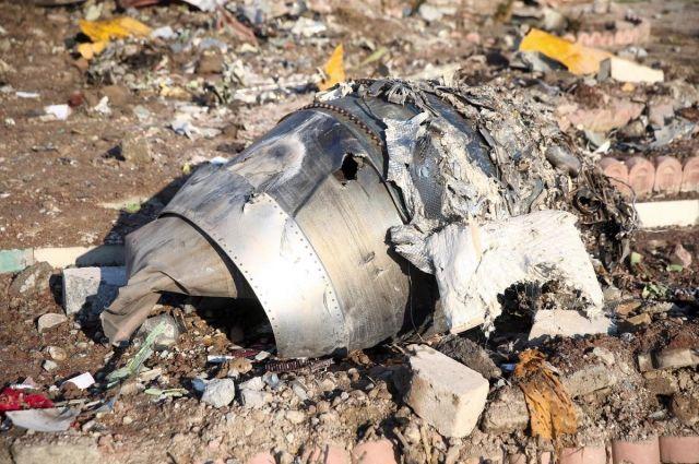Украина хочет получить от Ирана записи переговоров диспетчеров самолета МАУ