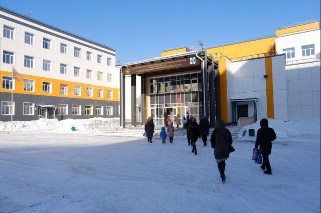 Строительство школы началось в апреле 2018 года.