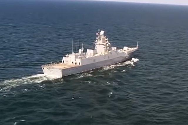 Фрегат «Адмирал Касатонов».