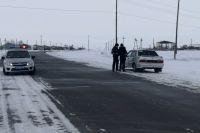 Водитель автомобиля ВАЗ-21093 не остановился для проверки документов и попытался скрыться.