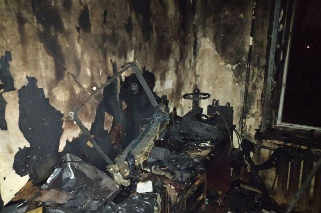 В Запорожье произошел пожар в многоэтажке: есть жертва