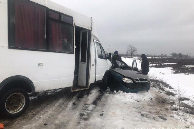 В Херсонской области произошло масштабное ДТП: есть жертвы