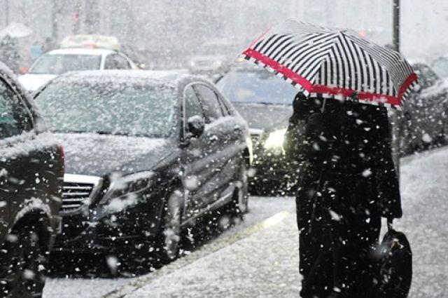 Погода на 12 февраля: в Украине ожидается мокрый снег