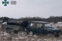 Из Украины в РФ пытались вывезти часть военного вертолета