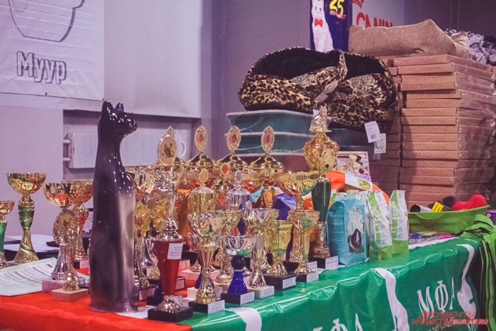 Победители и призёры в каждых номинациях получали кубки, медали и призы от партнёров