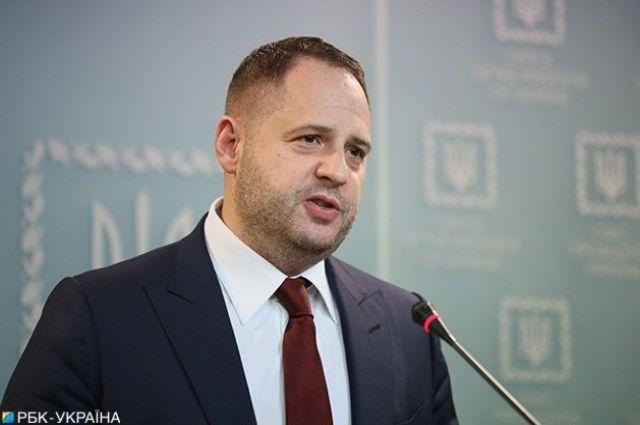Ермак рассказал об условиях для проведения выборов на Донбассе