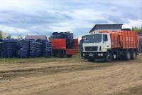 В Тюменский район прибудут новые мусоровозы