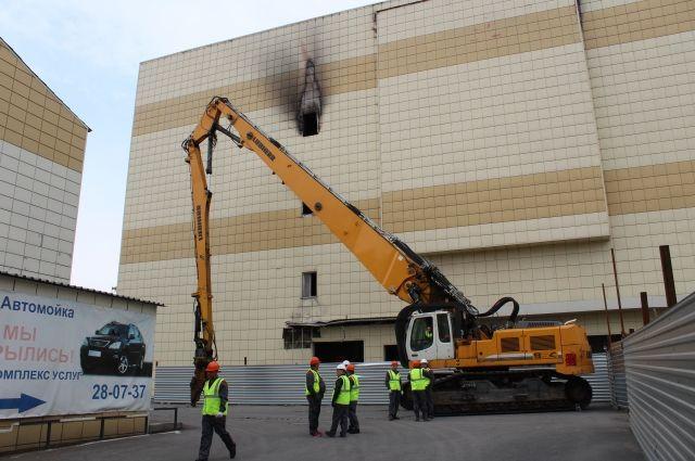 Пожар в здании торгового центра произошел 25 марта 2018 года.