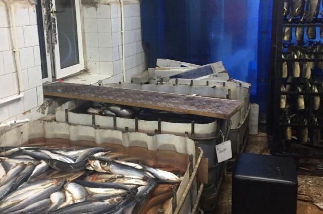 Под Оренбургом убит кладовщик рыбного цеха.