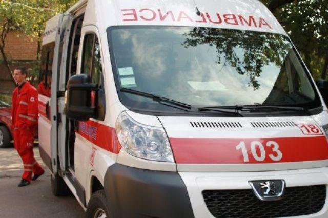 Во Львовской области медик получила сотрясение мозга из-за пьяного пациента