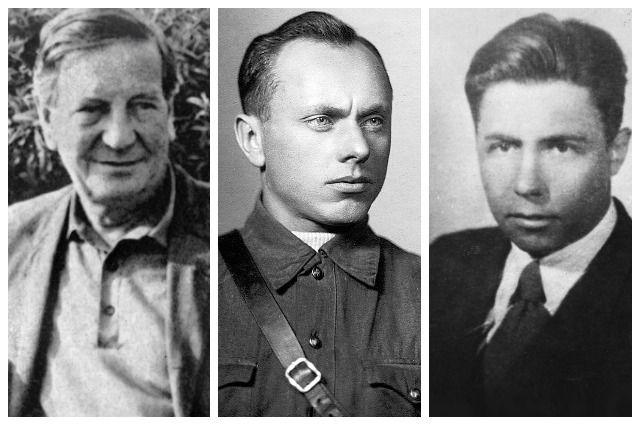 Ким Филби, Алексей Ботян и Анатолий Яцков.