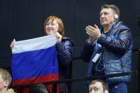 В ледовом дворце «Кристалл арена» в Красноярске ждут болельщиков. я.
