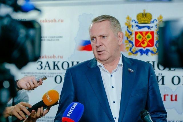 Александр Куниловский покинул пост главы комитета в Заксобре.