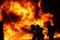 В Тобольском районе на месте пожара обнаружили труп мужчины