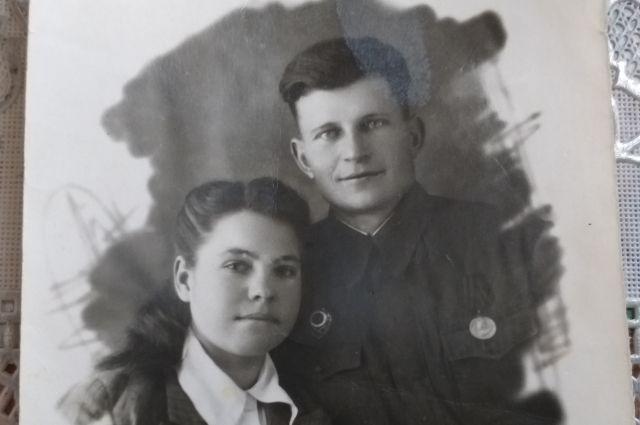 Мария Михайловская с мужем Иваном.