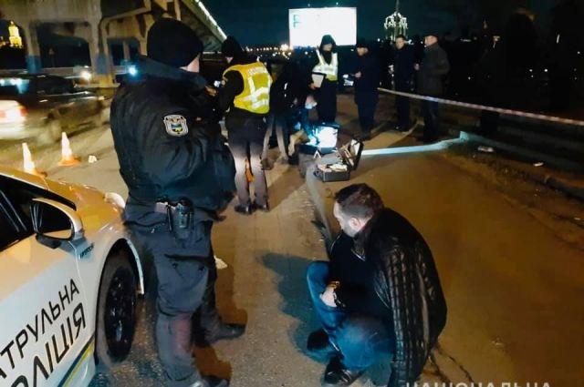 В Киеве полицейские открыли стрельбу, чтобы задержать беглеца
