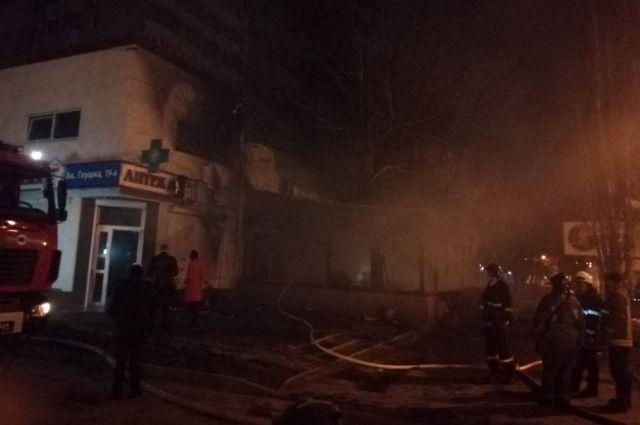 В Одессе произошел пожар в кафе: детали происшествия