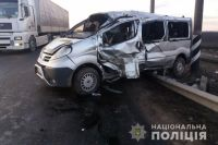В Николаевской области произошло ДТП, семь пострадавших