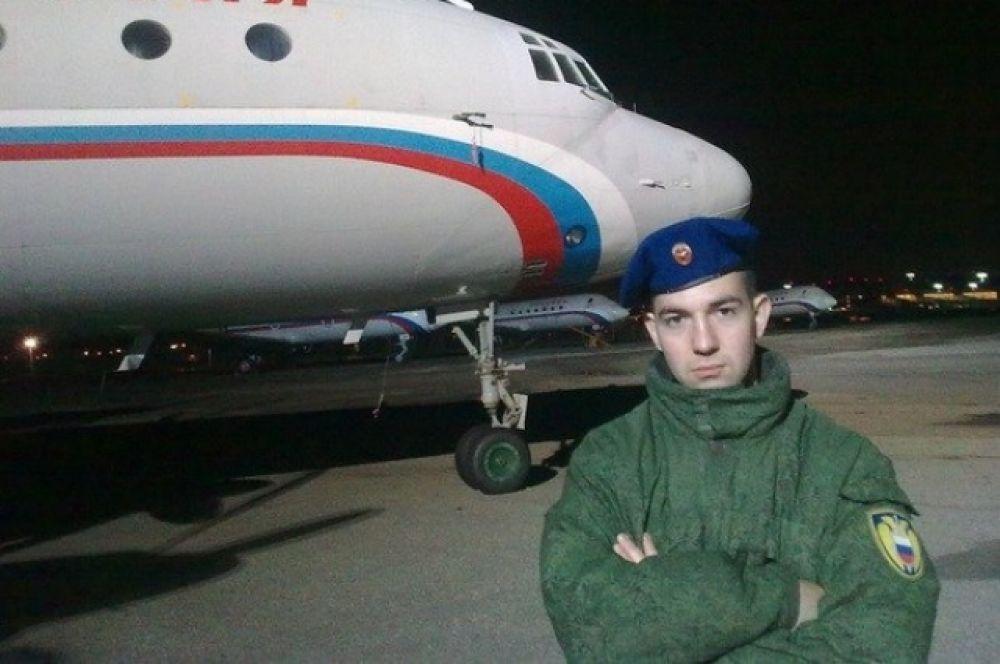 Участник №13: Розанов Алексей. Президентский полк.