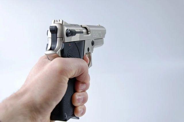 8-летнего ранее судимого подозреваемого задержали сотрудники полка патрульно-постовой службы полиции. Пистолет у мужчины изъяли.