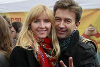 Валерий Сюткин с супругой Виолой.