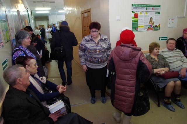 В больнице Киева в очереди умер мужчина. Фото иллюстративное.