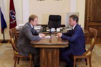 Виктор Томенко (слева) и Вячеслав Франк (справа)
