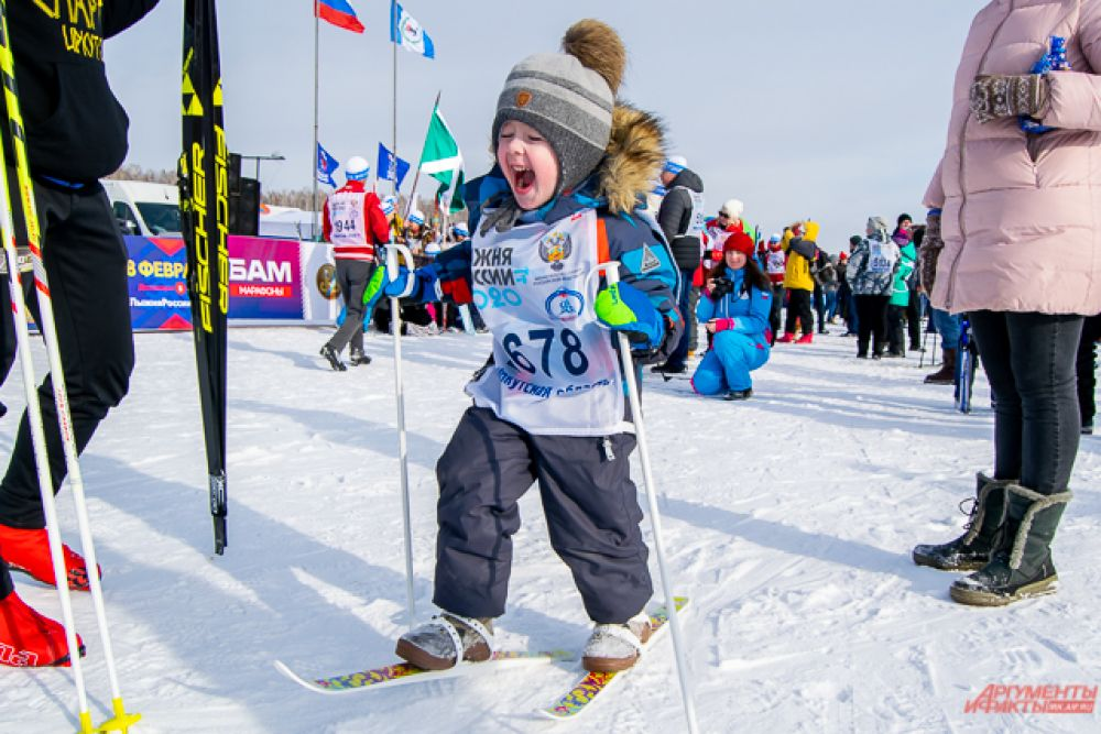 Главный областной старт по традиции прошёл в посёлке Молодёжный Иркутского района.