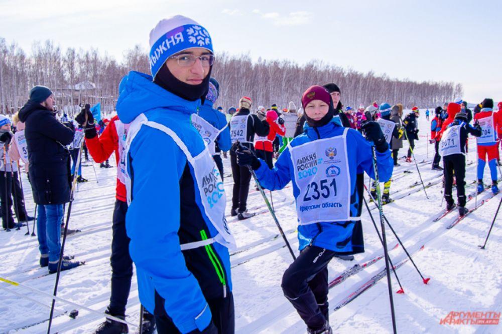Участникам массового старта предложили две дистанции – пять и десять километров