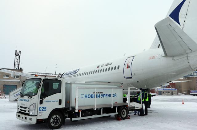 Парк спецтехники аэропорта Новый Уренгой пополнился новыми машинами