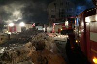 В Оренбурге пожар на улице Ульянова унес жизни двух человек