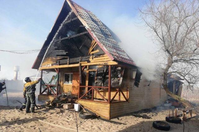 В Затоке произошел пожар на базе отдыха: детали происшествия