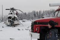 На Ямале вертолет МИ-8 попал в снежную бурю, погибли два человека