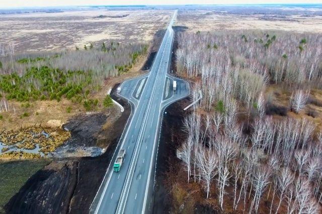 В Тюменской области ведется ремонт дорог