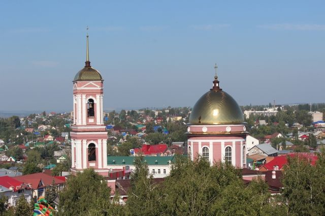 Виды города Бирска.