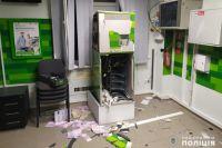 В Николаеве взорвали банкомат и похитили 250 тысяч гривен