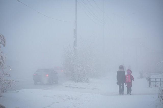 На смену снегопадам в Оренбургскую область придут туман и изморозь