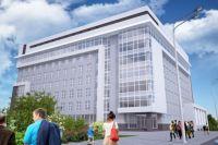 Один из проектов нового корпуса АлтГУ