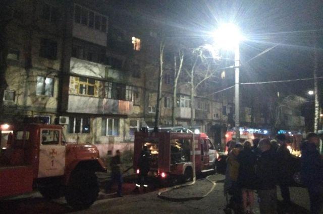 В Виннице произошел пожар в могоэтажном жилом доме: есть жертва