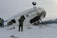 В результате крушения вертолета погибли командир судна и бортмеханик