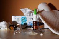При гриппе температура поднимается уже через несколько часов после заражения.