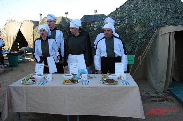 Конкурс поваров Южного военного округа 2019 г.