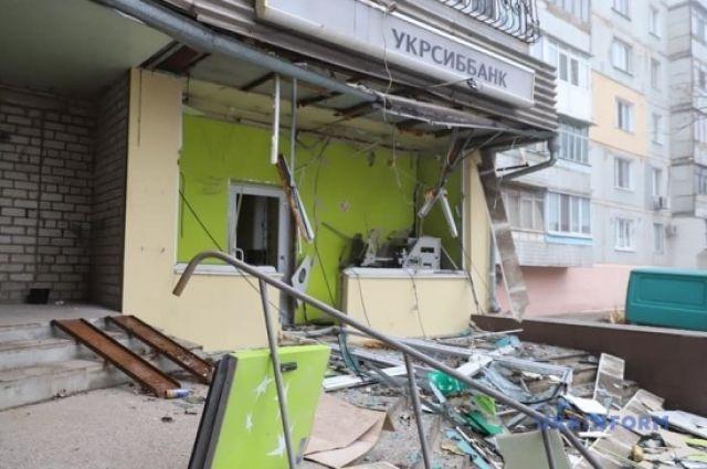В Запорожье злоумышленники взорвали отделение банка