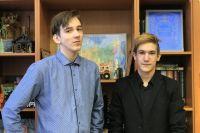 Предложение стажироваться в Италии получил Никита (справа). .