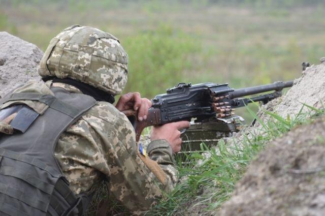 Бой на Донбассе: подробности, количество раненых и погибших. Фото иллюстративное.