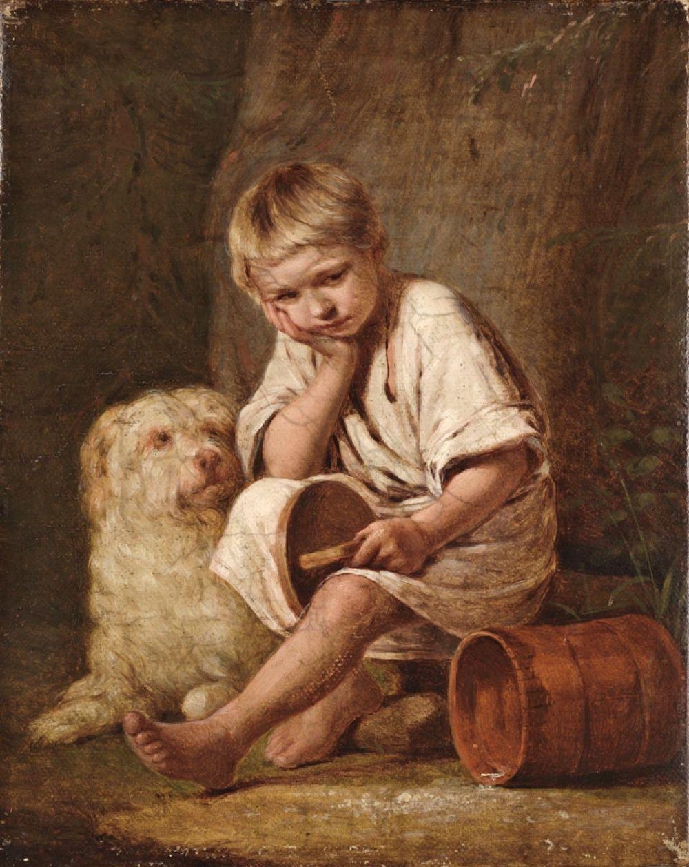 «Вот-те и батькин обед!», 1824.
