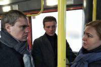 Владимир Панов регулярно проверяет работу муниципальных автобусов.