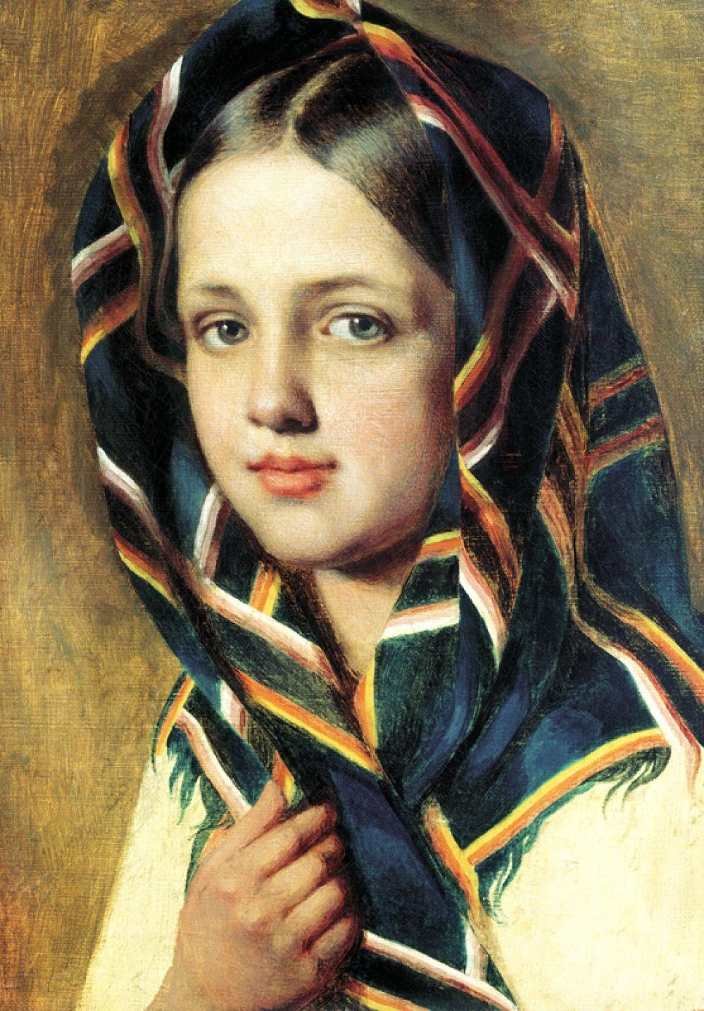 «Девушка в платке», конец 1820-х.